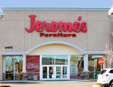 Jerome's Murrieta Furniture Store, Serving Murrieta, Temecula