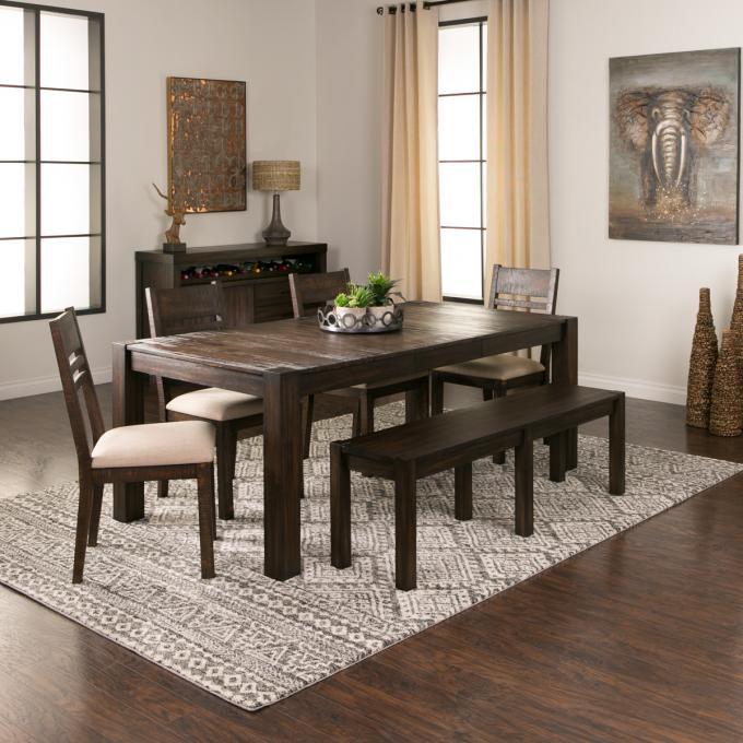 Acacia Dining Set   Expandable Dining Room Set   Jerome\'s